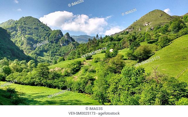 Texedal, Piloña municipality, Asturias, Spain