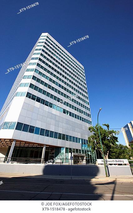 woodsworth government office building winnipeg manitoba canada