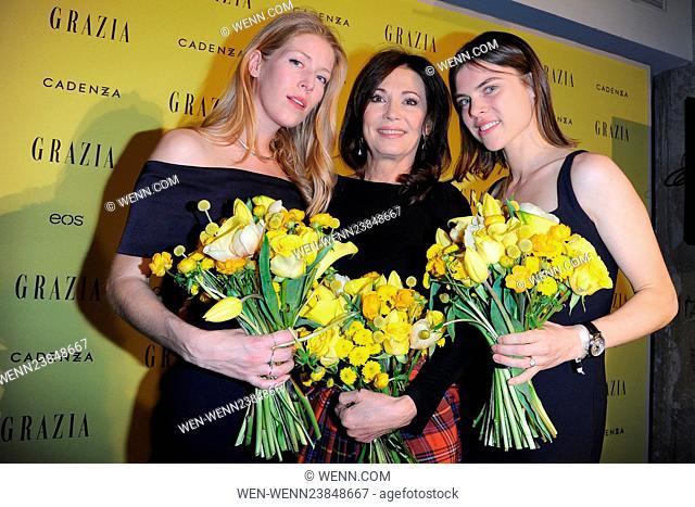 Grazia magazine Germany's Best Inspiration Award 2016 at Soho House in Mitte Featuring: Carolyn Hodler, Iris Berben, Anna-Christin Haas Where: Berlin