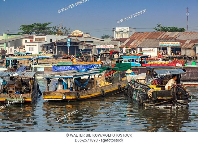 Vietnam, Mekong Delta, Cai Rang, Cai Rang Floating Market