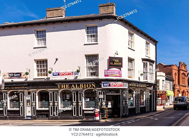The Albion pub in Cromer , Norfolk , England , Britain , Uk