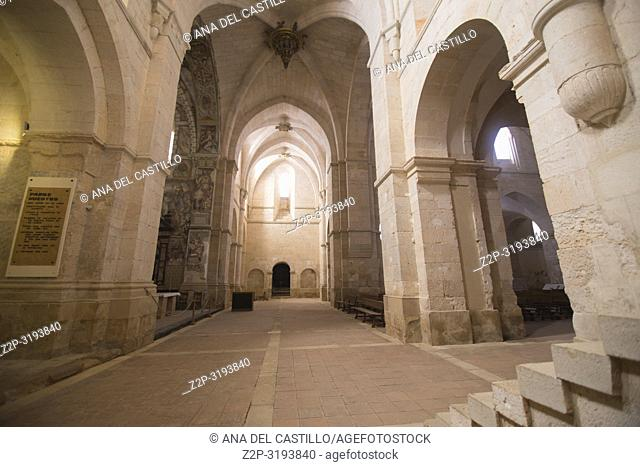 Monastery of Santa Maria de Huerta. Soria province, Castilla-León, Spain