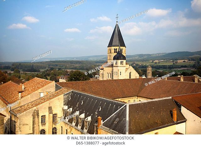 France, Saone-et-Loire Department, Burgundy Region, Maconnais Area, Cluny, Cluny Abbey
