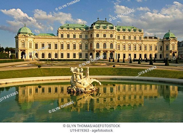 Oberes Belvedere, Vienna, Austria