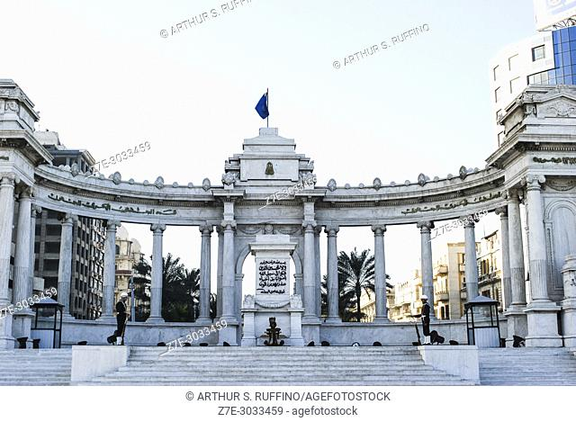 Tomb of the Unknown Soldier, Alexandria, Egypt