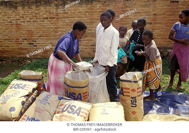 Foreign aid for People in Ruanda Africa