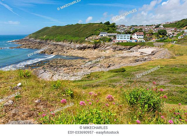 Limeslade Bay the Gower Peninsula South Wales next to Bracelet bay and near Swansea city and the Mumbles