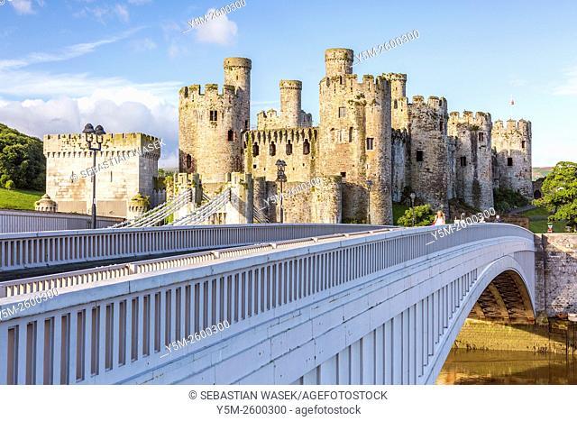 Conwy Castle, Wales, United Kingdom, Europe