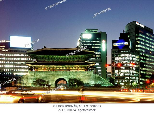 South Korea, Seoul, Namdaemun, Sungnyemun, Great South Gate