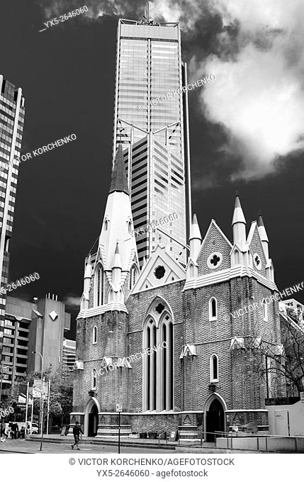 Church building in downtown Perth
