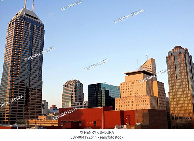 Skyscrapers in Indianapolis
