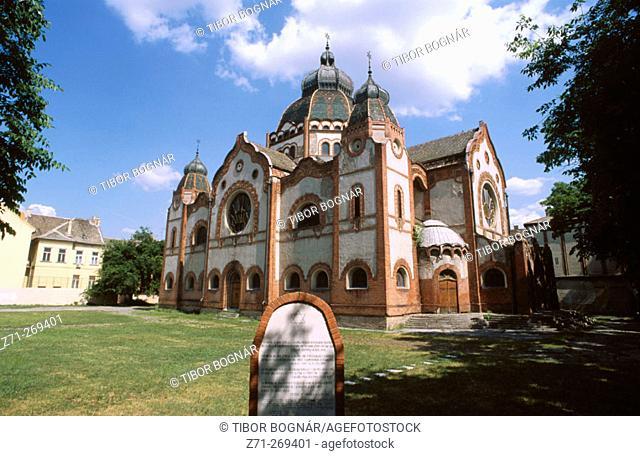 Synagogue in Subotica. Vojvodina. Serbia