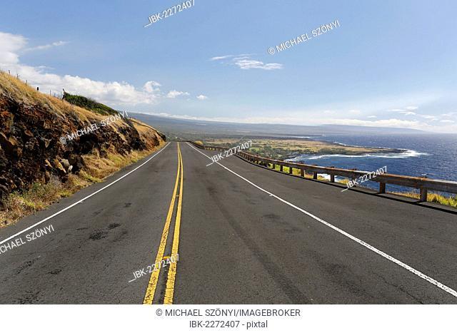Southern coast of Big Island, Hawaii, USA