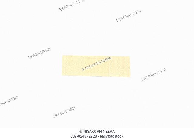plaster bandage on a white background