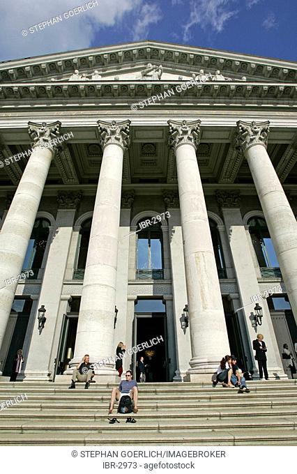 Munich, GER, 01. Jun. 2005 - Bavarian state opera in building of Munich Nationaltheatre at Max-Joseph-Platz