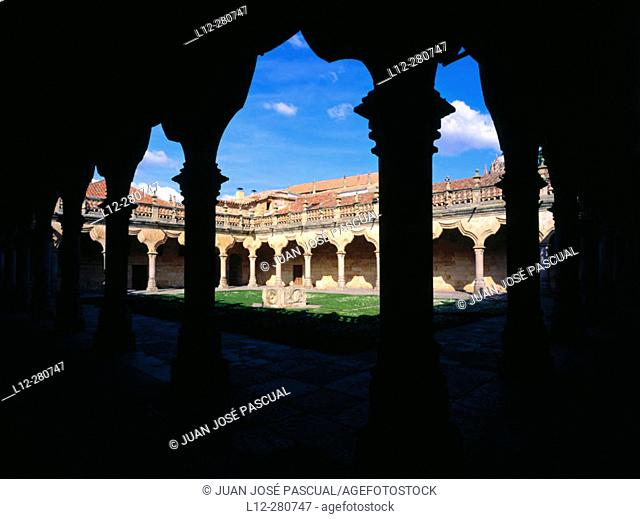 Patio of Minor Schools. Salamanca. Spain
