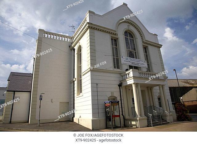 ballymoney town hall and museum county antrim northern ireland uk