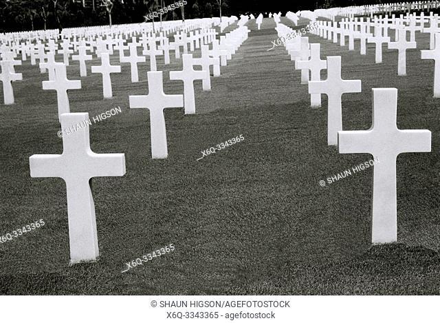 Manila American War Cemetery and Memorial in Bonifacio Global City in Manila in Luzon Metro Manila in the Philippines in Southeast Asia Far East