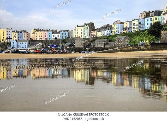 Tenby, Pembrokeshire, Wales, UK, Europe