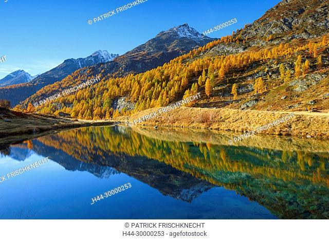Grundsee im Lötschental, Wallis, Schweiz