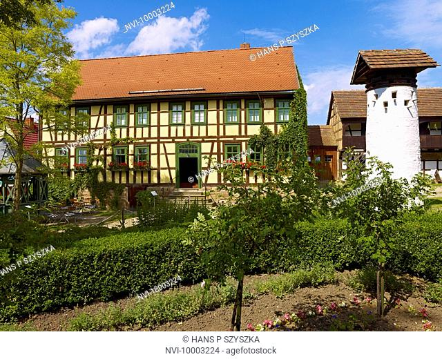 Open air museum Hohenfelden, Ilmkreis, Thuringia, Germany