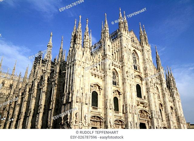 Duomo di Milano, Milan Cathedral is the cathedral church of Milan in Lombardy, northern Italy