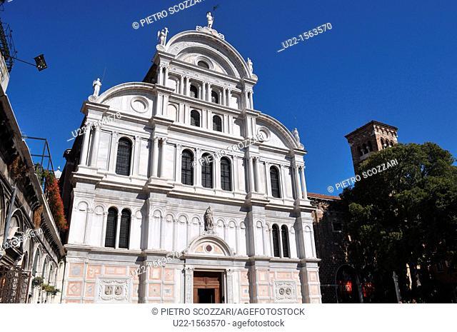 Venezia (Italy): the Church of San Zaccaria