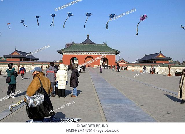 China, Beijing, Temple of Heaven or Tian Tan listed as World Heritage by UNESCO