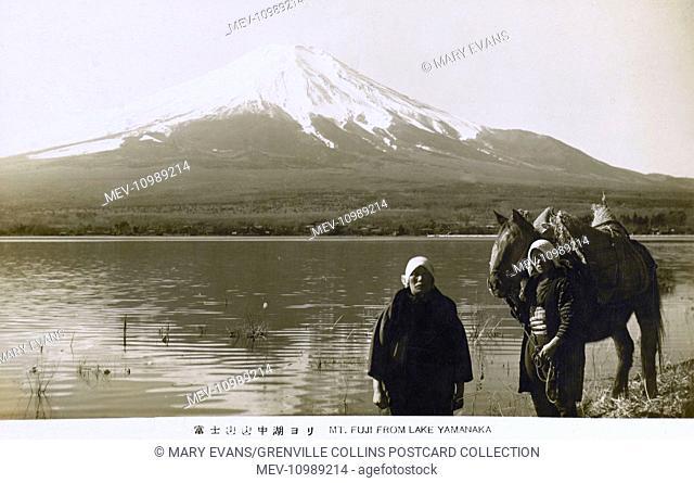 Mount Fuji, Japan - from Lake Yamanaka