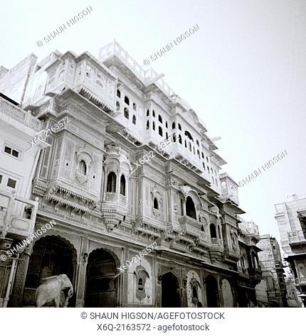 Nathmalji Ki Haveli in Jaisalmer in Rajasthan in India