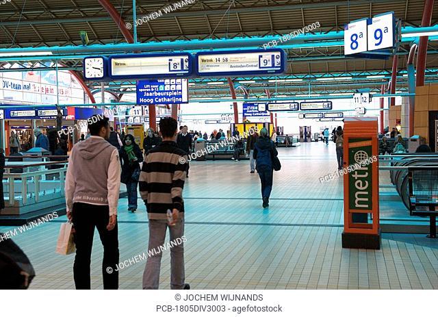 Utrecht, central station