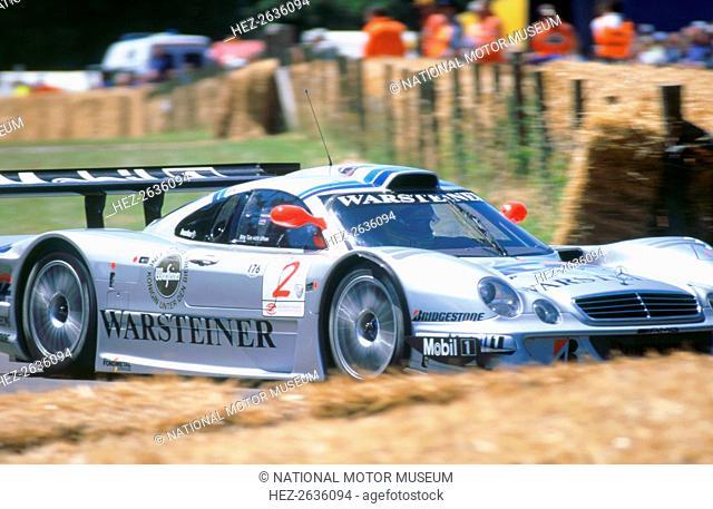1998 Mercedes Benz CLK LM. Artist: Unknown