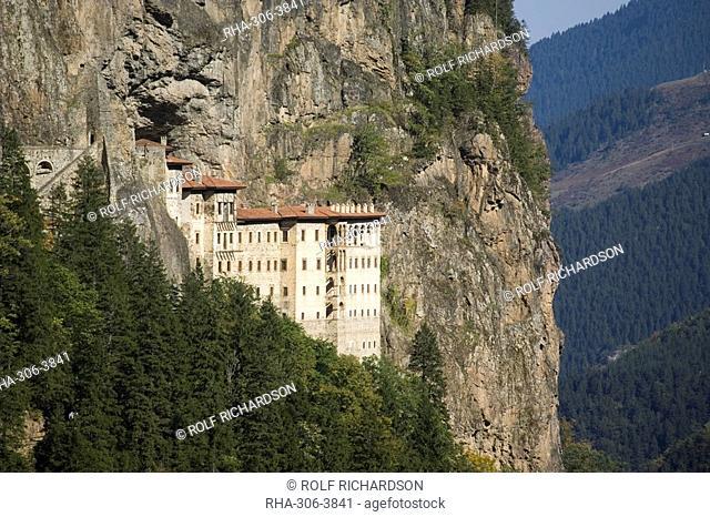 Sumela monastery, Trabzon, Anatolia, Turkey, Asia Minor, Eurasia