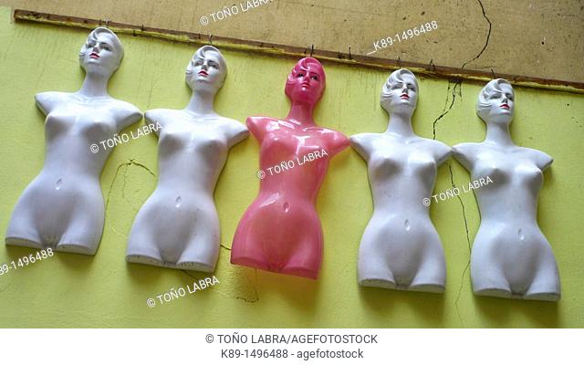 Mannequins, Islamic Quarter, Cairo, Egypt