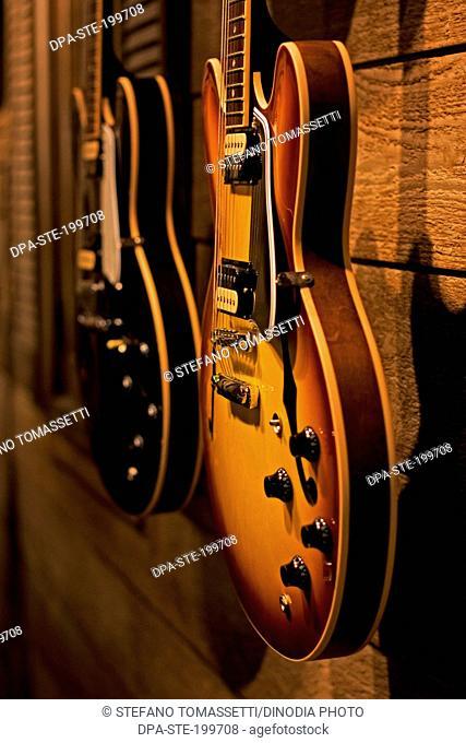 guitar close up, california, united state of america