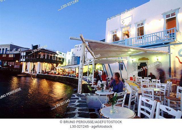 Mykonos. Cyclades. Greece