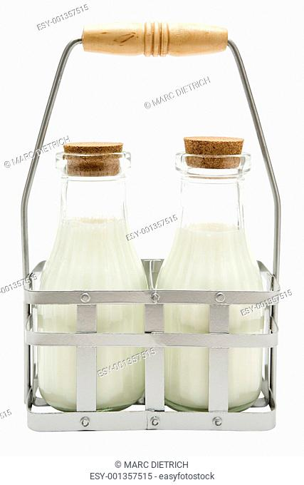 Two Milk Bottles