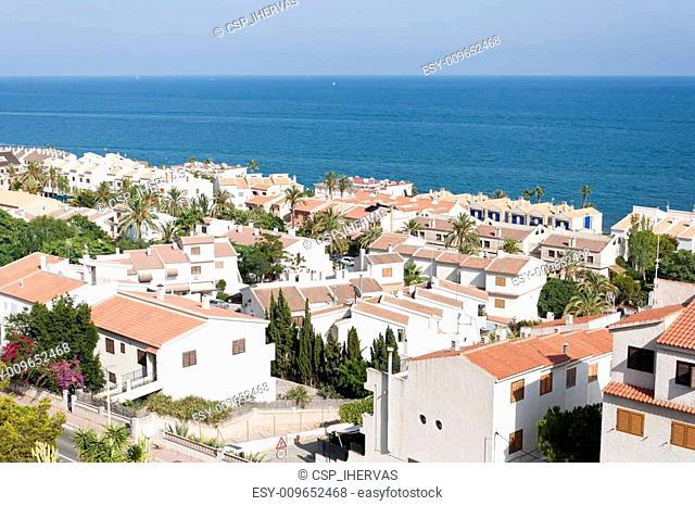 Views of Santa Pola town