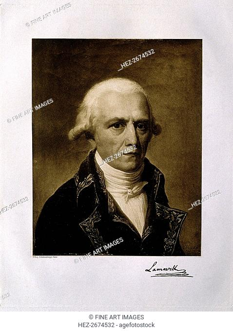 Jean-Baptiste Pierre Antoine de Monet, Chevalier de Lamarck (1744-1829), 1801