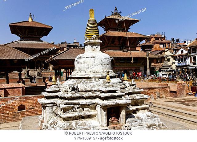 Buddhist stupa in Durbar Square, Patan, Nepal