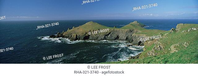 The Rumps, Pentire Head, near Polzeath, north Cornwall, England, United Kingdom, Europe