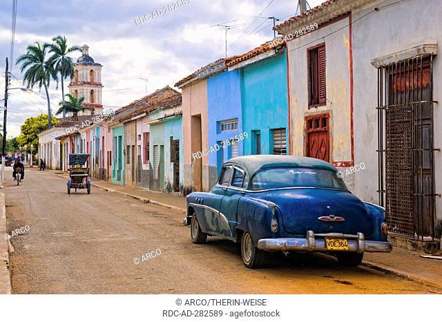 Vintage car, Oldtimer, Santa Clara Province, Cuba