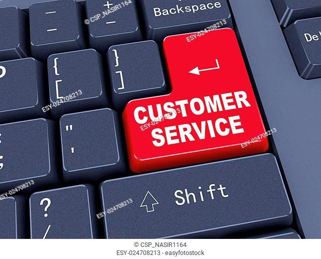 3d keyboard - customer service