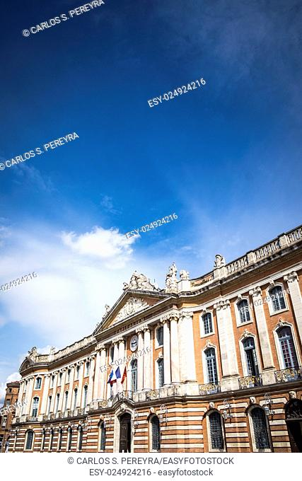 The Capitole City Hall of Toulouse France