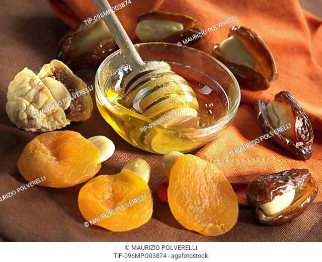 Dried fruits and honey