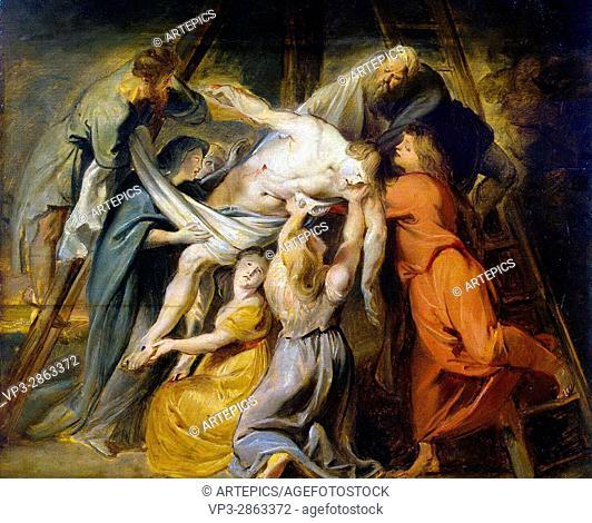 Peter-Paul Rubens. Descent from the Cross. 1614. Hermitage Museum - Saint Petersburg