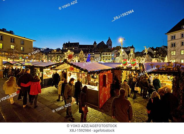 Christmas markets, Basel, Switzerland