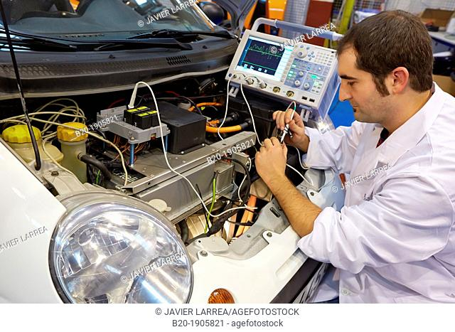 Research and development in electric vehicles  New concepts and components development platform for electric propulsion vehicles  NCV  Industry and Transport...