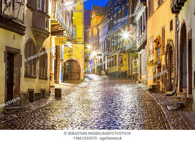Riquewihr, Haut-Rhin, Alsace, France, Europe