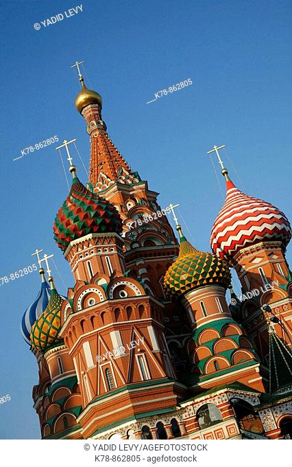 Sep 2008 - St  Basil's Church, Red Square, Moscow, Russia